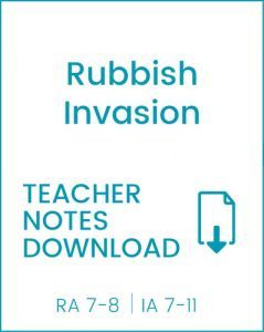 Enjoy Guided Reading: Rubbish Invasion Teacher Notes
