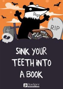 Downloadable Poster - Sink your teeth into a book