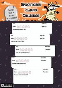 Spooktober Reading Challenge