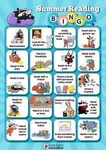 Summer Reading Bingo Challenge