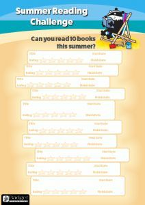 Summer Reading Challenge - 10 Books