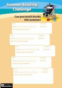 Summer Reading Challenge - 5 Books