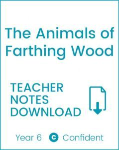 Enjoy Guided Reading: The Animals of Farthing Wood Teacher Notes