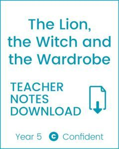 Enjoy Guided Reading: The Lion, the Witch & the Wardrobe Teacher Notes