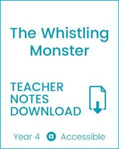 Enjoy Guided Reading: The Whistling Monster Teacher Notes