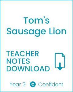 Enjoy Guided Reading: Tom's Sausage Lion Teacher Notes