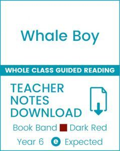 Enjoy Whole Class Guided Reading: Whale Boy Teacher Notes