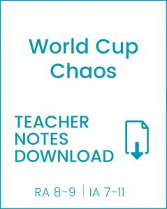 Enjoy Guided Reading: World Cup Chaos Teacher Notes