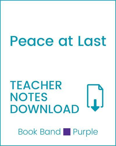 Enjoy Guided Reading: Peace at Last Teacher Notes