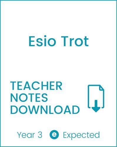 Enjoy Guided Reading: Esio Trot Teacher Notes