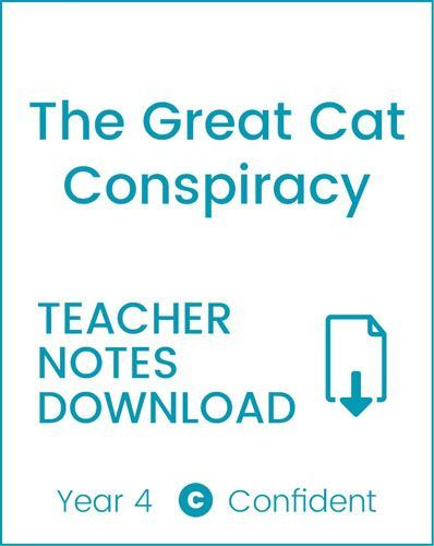 Enjoy Guided Reading: The Great Cat Conspiracy Teacher Notes