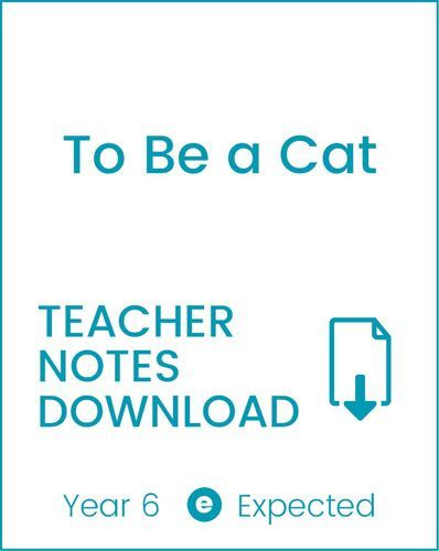Enjoy Guided Reading: To Be a Cat Teacher Notes