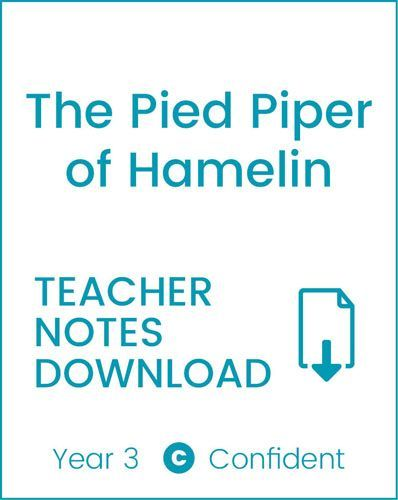 Enjoy Guided Reading: The Pied Piper of Hamelin Teacher Notes