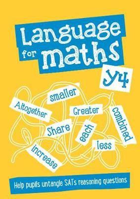 Language for Maths Year 4