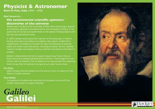 Science Greats Posters