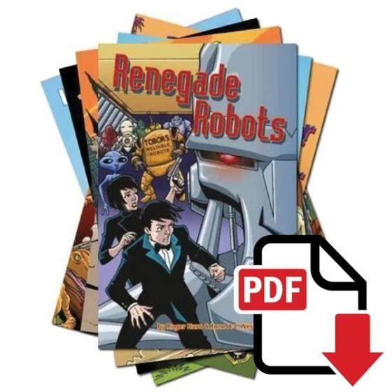 Alien Detective Agency I - PDF Download