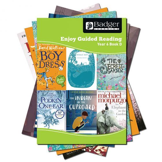 Enjoy Guided Reading Year 6 Pack D