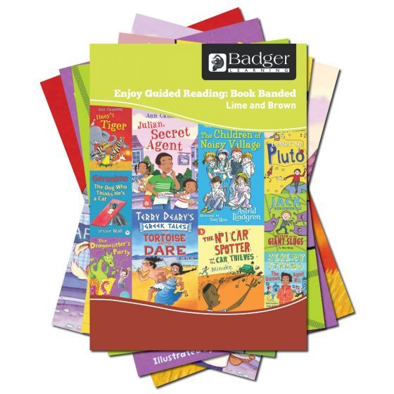 Enjoy Guided Reading Book Band - Lime and Brown Complete Pack