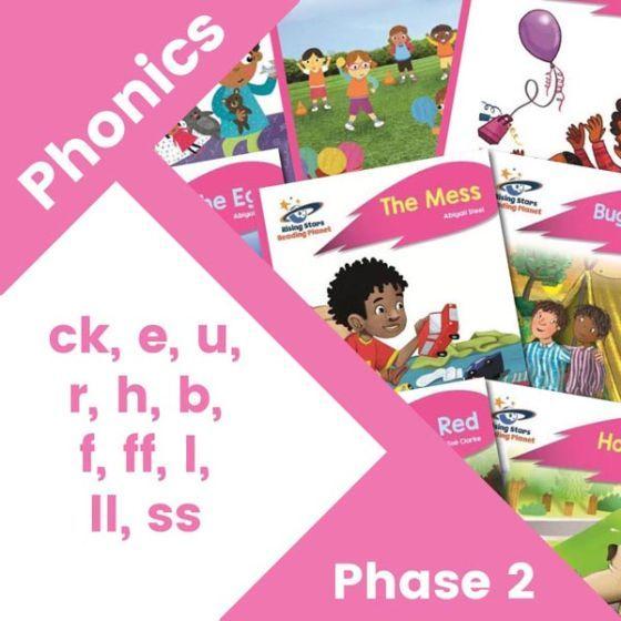 Home Reading Pink Phonics