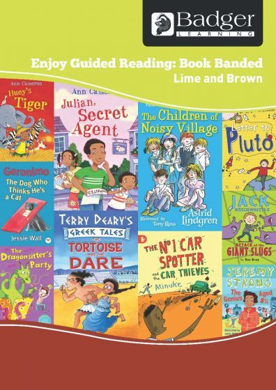 Enjoy Guided Reading Book Band - Lime and Brown Teacher Book & CD