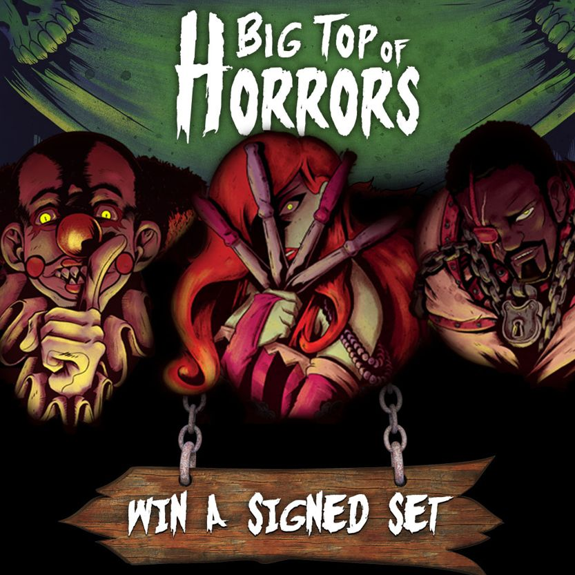 Big Top of Horrors Available Now