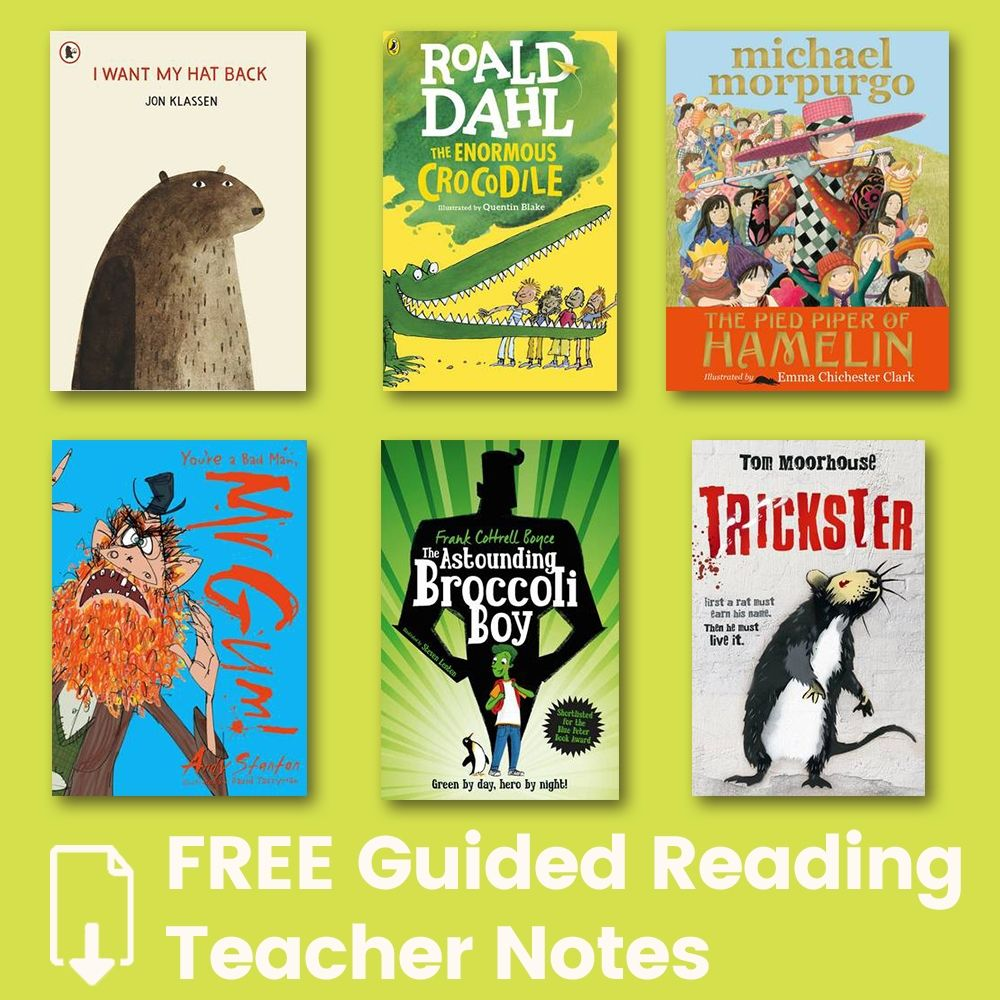 FREE Guided Reading Teacher Notes to Download