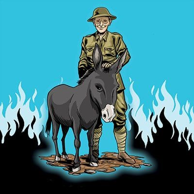 Jimmy, Donkey of the Somme by Clare Lawrence