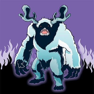 Snow Beast by Craig Allen