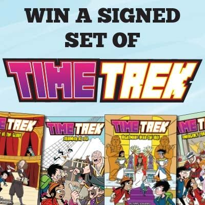 Win a Signed Set of Time Trek