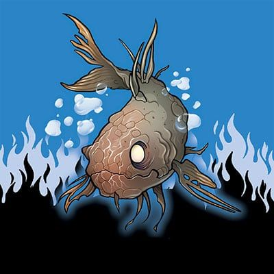 Zombie Goldfish by Danny Pearson