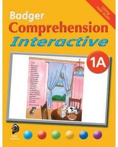 Badger Comprehension Interactive: Pupil Book 1A