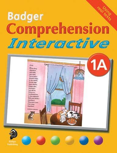 Badger Comprehension Interactive: Pupil Book 1A