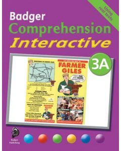 Badger Comprehension Interactive: Pupil Book 3A