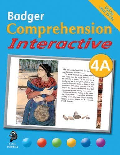 Badger Comprehension Interactive: Pupil Book 4A