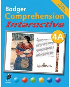 Badger Comprehension Interactive: Pupil Book 4A