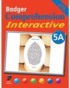 Badger Comprehension Interactive: Pupil Book 5A
