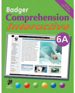Badger Comprehension Interactive: Pupil Book 6A