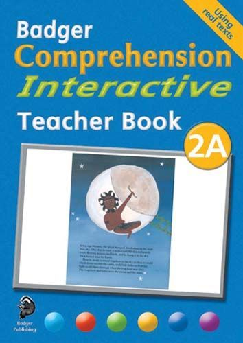 Badger Comprehension Interactive: Teacher Book 2A