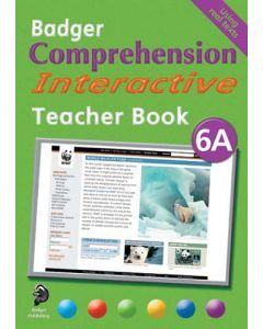Badger Comprehension Interactive: Teacher Book 6A