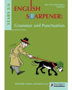English Sharpener: Grammar & Punctuation Years 5-6 Teacher Book + CD
