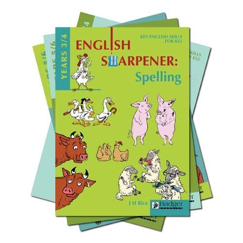 English Sharpener: All 4 Teacher Books and CDs