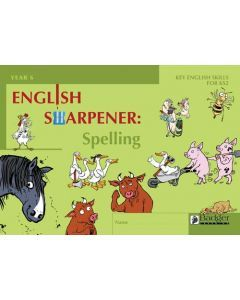 English Sharpener: Spelling Pupil Workbook - Pack of 6