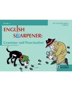 English Sharpener: Grammar & Punctuation Pupil Workbook - Pack of 6