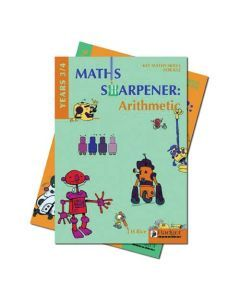 Maths Sharpener: Arithmetic Both Teacher Books + CD