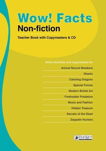 WOW! Facts (BL) Teacher Book + CD