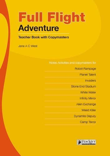 Full Flight Adventure Teacher Book and CD