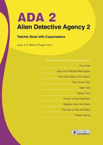 Alien Detective Agency Teacher Book 2 + CD