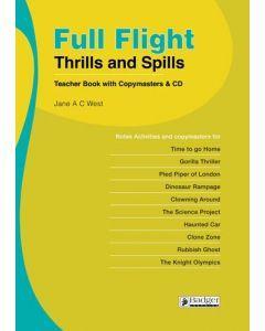 Full Flight Thrills and Spills: Teacher Book & CD