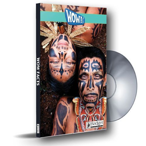 WOW! Facts Turquoise - eBook PDF CD