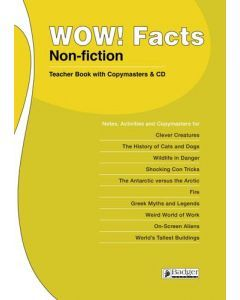 WOW! Facts White Teacher Book & CD
